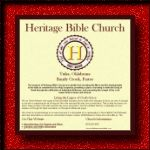 Heritage Bible Church, Sample Design
